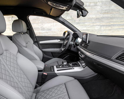 2016-2018 Audi Q5 Front Seating