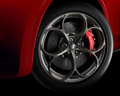 2018 Alfa Romeo Stelvio 4dr SUV Quadrifoglio Front Wheel Shown