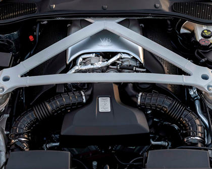 2018 Aston Martin DB11 V8 Coupe Engine