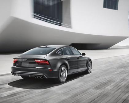 2016-2018 Audi  S7 Sportback In Motion