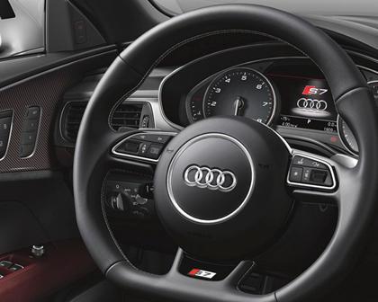2016-2018 Audi  S7 Sportback Steering Wheel