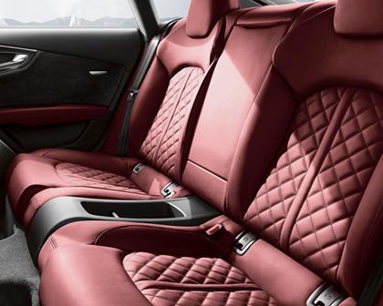 2016-2018 Audi  S7 Sportback Rear Seating