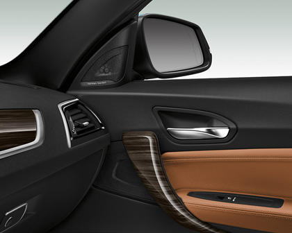2018-2019 BMW 2 Series Convertible Wooden Interior Detail