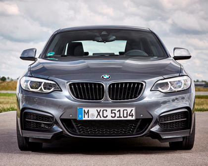2018-2019 BMW 2 Series Coupe Front View