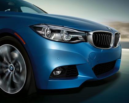 2017-2019 BMW 3 Series Gran Turismo Front Bumper Closeup