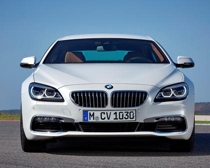 2014-2018 BMW 6 Series Gran Coupe Front View