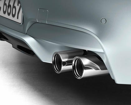 2014-2018 BMW M6 Gran Coupe Exhaust