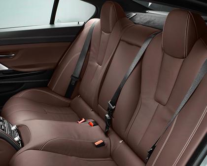 2014-2018 BMW M6 Gran Coupe Rear Seating