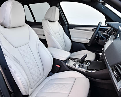 2018-2019 BMW X3 Driver and Front Passenger Seats