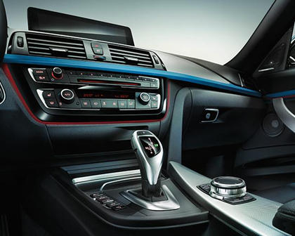 2017-2019 BMW 3 Series Gran Turismo Dashboard  Layout
