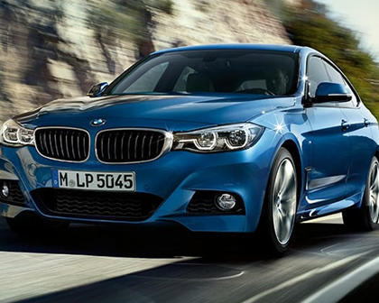 2017-2019 BMW 3 Series Gran Turismo In Motion