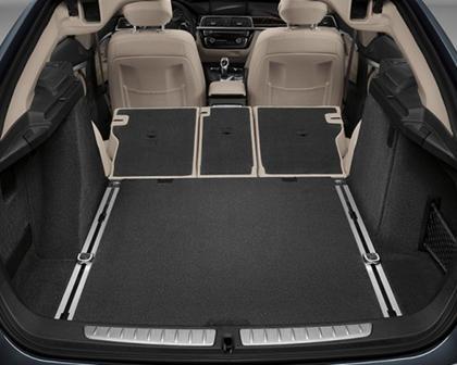 2017-2019 BMW 3 Series Gran Turismo Maximum Rear Cargo Space