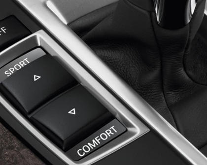 2014-2018 BMW 6 Series Gran Coupe Suspension Mode Switch Buttons