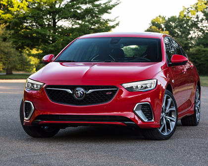 2018 Buick Regal GS Sedan Front Three-Quarter Left Side View