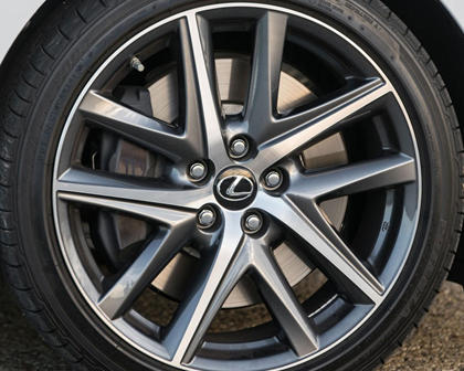 2017 Lexus GS 450h F SPORT Sedan Wheel