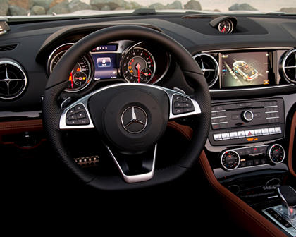 Mercedes-Benz SL-Class SL 450 Convertible Interior