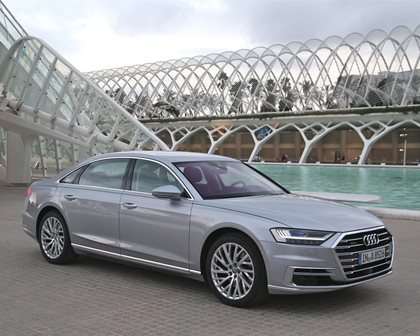 First Drive: Audi A8 Is The New Lord Of The Rings
