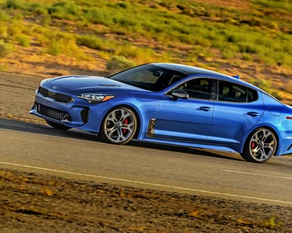 First Drive: The Kia Stinger Lives Up To The Hype