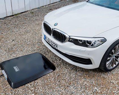 2018-2019 BMW 5 Series Plug-in Hybrid Wireless Charging