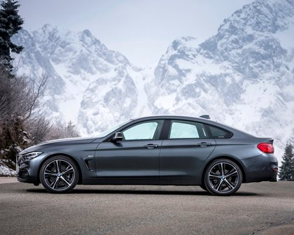 2017-2019 BMW 4 Series Gran Coupe Left Side View