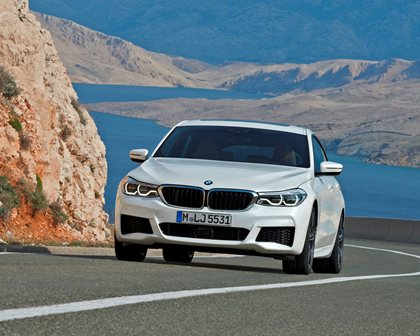 2018 BMW 6 Series Gran Turismo In Motion