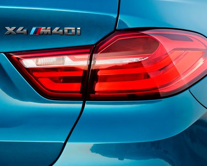 2015-2018 BMW  X4 Taillights