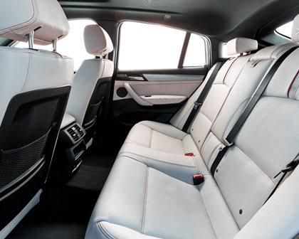 2015-2018 BMW  X4 Rear Seating