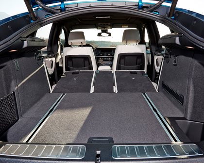 2015-2018 BMW  X4 Luggage Space with Second Row Down