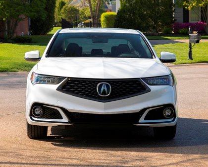 2018-2019 Acura TLX Sedan Front View