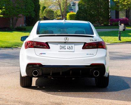 2018-2019 Acura TLX Sedan Rear View