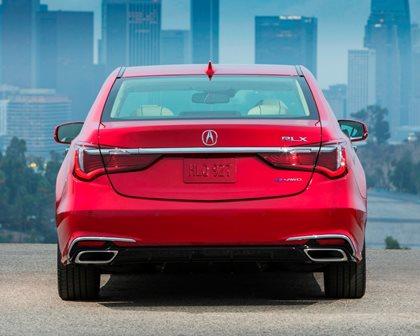 2018 Acura RLX Sport Hybrid Rear View