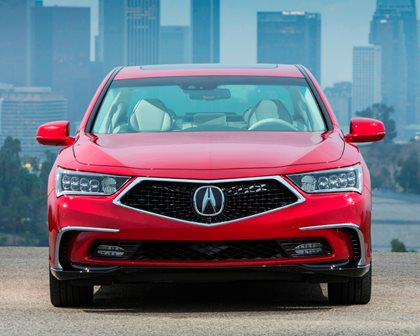 2018 Acura RLX Sport Hybrid Front View