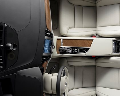2018 Volvo  S90 Plug-in Hybrid Front Interior Top View