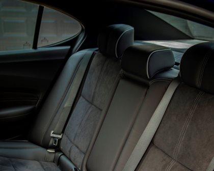 2018-2019 Acura TLX Sedan Rear Seating