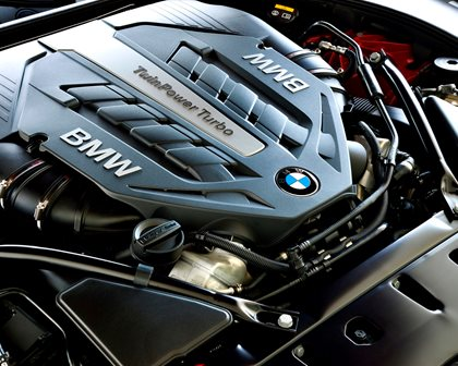 2015-2018 BMW 6 Series Convertible Engine Bay