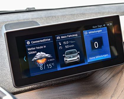 2018 BMW i3 Hatchback Infotainment System