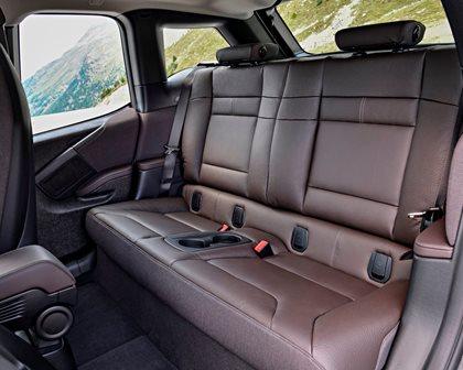 2018 BMW i3 Hatchback Rear Seating