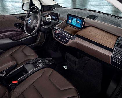 2018 BMW i3 Hatchback Dashboard  Layout