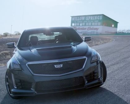 Can The 640-HP Cadillac CTS-V Defeat The New Mercedes-AMG E63 S?