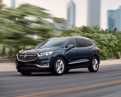 2018-2019 Buick Enclave In Motion
