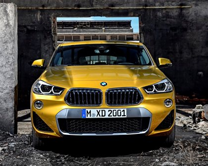 2018 BMW X2 Front View