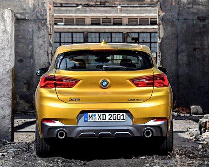 2018 BMW X2 Rear View
