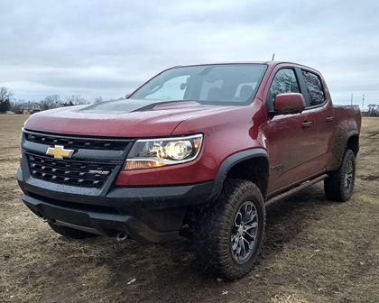 2018 Chevrolet Colorado ZR2 Review: It Begs To Play Dirty