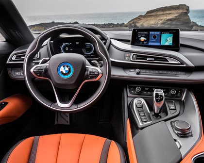 2019 BMW i8 Roadster Driver Area
