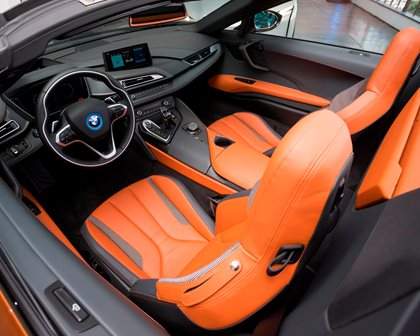 2019 BMW i8 Roadster Driver and Passenger Seats