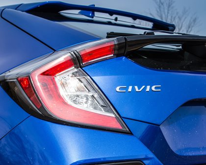 2018 Honda Civic Sport Touring Hatchback Taillights