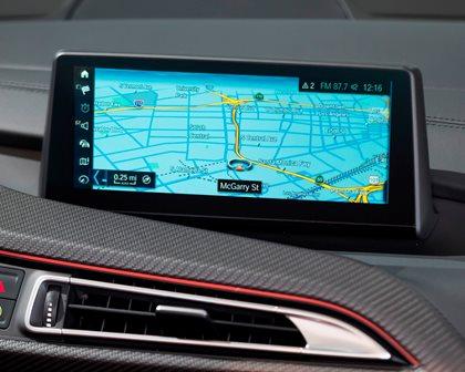 2019 BMW i8 Roadster Navigation System