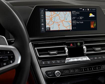 2019 BMW 8 Series Navigation System