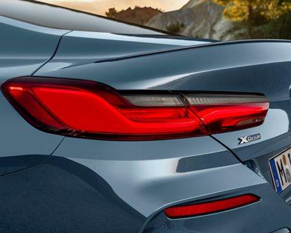 2019 BMW 8 Series Rear Angle Closeup