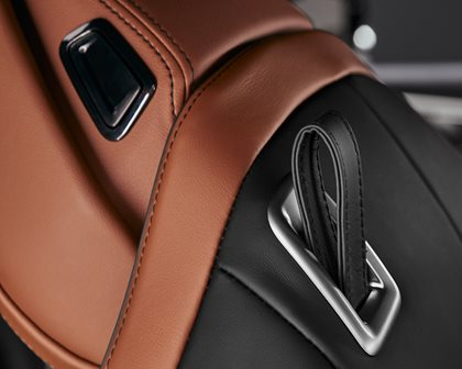 2019 BMW 8 Series Front Seat Details